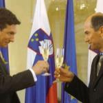 Janša vs. Pahor