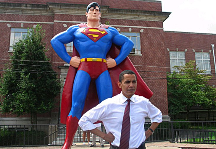 obamasuperman An Undeserved Honour