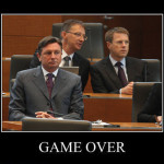 Game Over, Borut Pahor