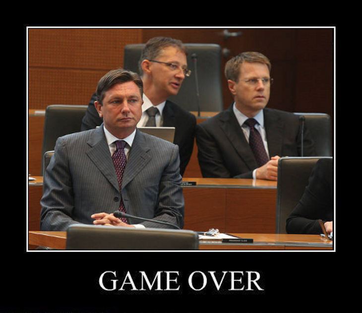 20110921 blog gameover01 Game Over, Borut Pahor
