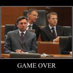 Game Over, Borut Pahor