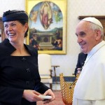 PM Bratušek Meets The Pope, Gets Pulled Over By The Fashion Police